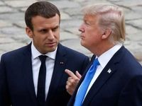 همصدایی ماکرون با ترامپ علیه ایران