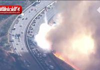 افزایش تلفات آتش سوزی کالیفرنیا +فیلم