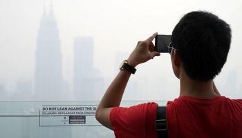 آتشسوزی  وسیع در جنگلهای اندونزی +تصاویر