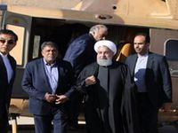 بازدید رییسجمهور از مناطق زلزلهزده استان کرمان