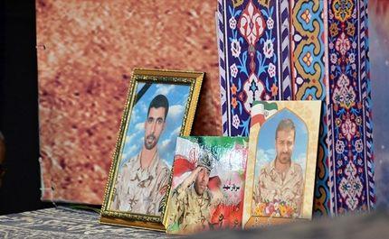 چهلم شهدای حادثه تروریستی اهواز