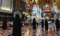 عید پاک مسیحیان ارتدوکس زیر سایه کرونا +تصاویر