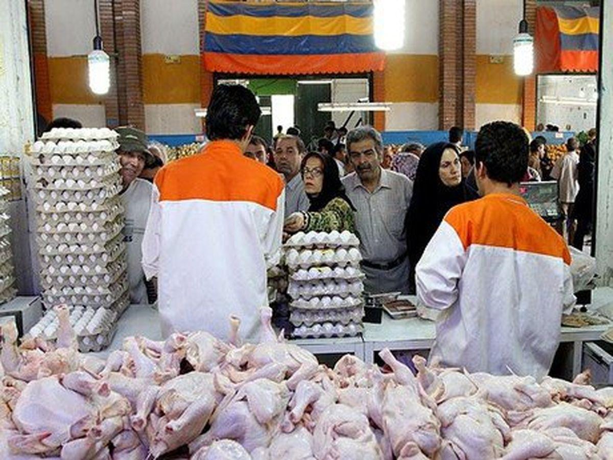 مرغ گران نیست، مغازهها گرانفروشند/ قیمت منطقی ۷۵۰۰ تومان