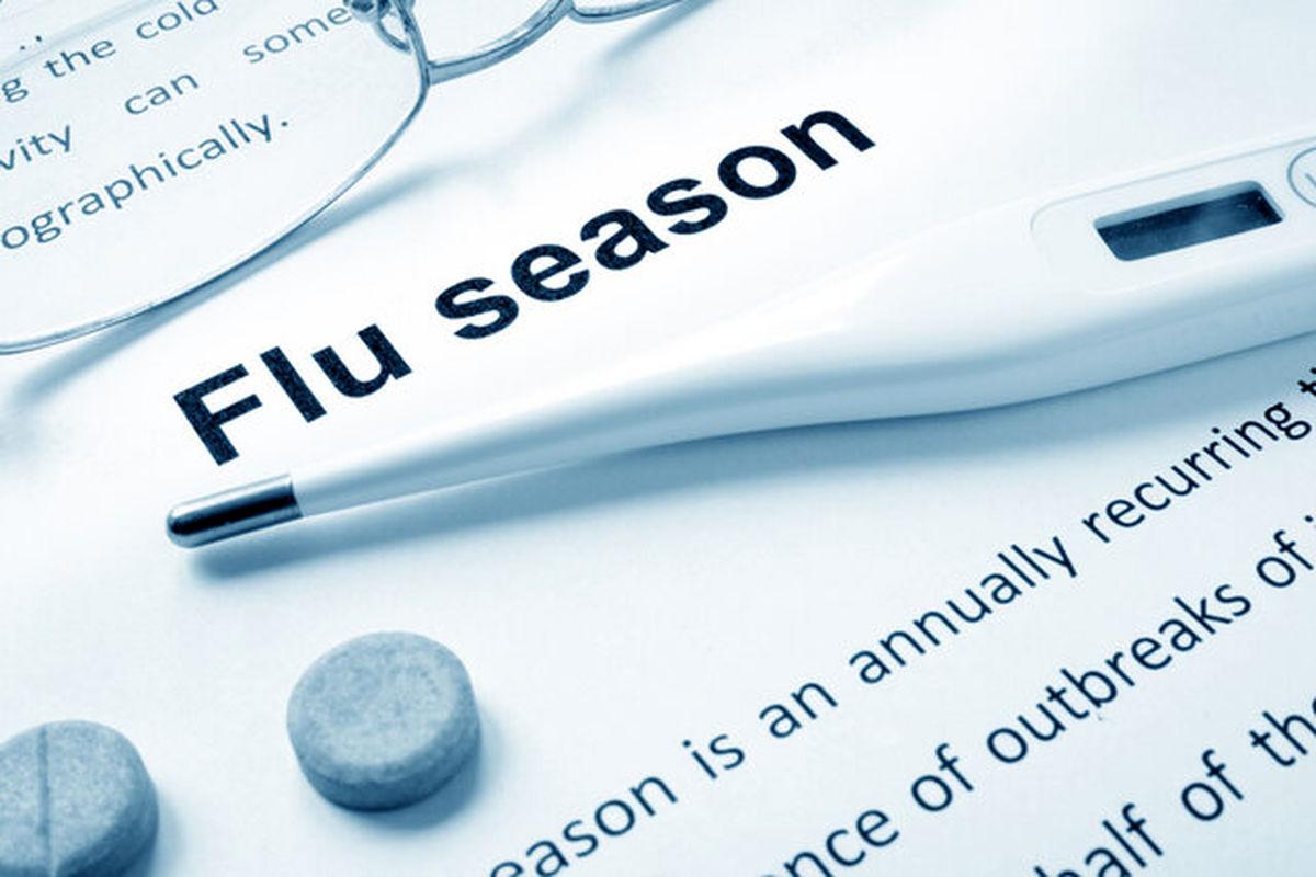 بررسی تاثیر پاندمی کرونا بر شیوع آنفلوآنزای فصلی