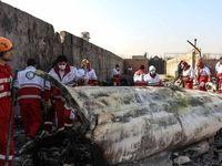 ۱۰۰نفر از قربانیان سقوط هواپیمای اوکراینی شناسایی شدند