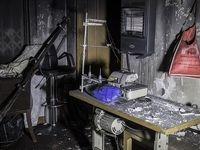 آتشسوزی کارگاه تولید لباس در چهارراه کالج +عکس