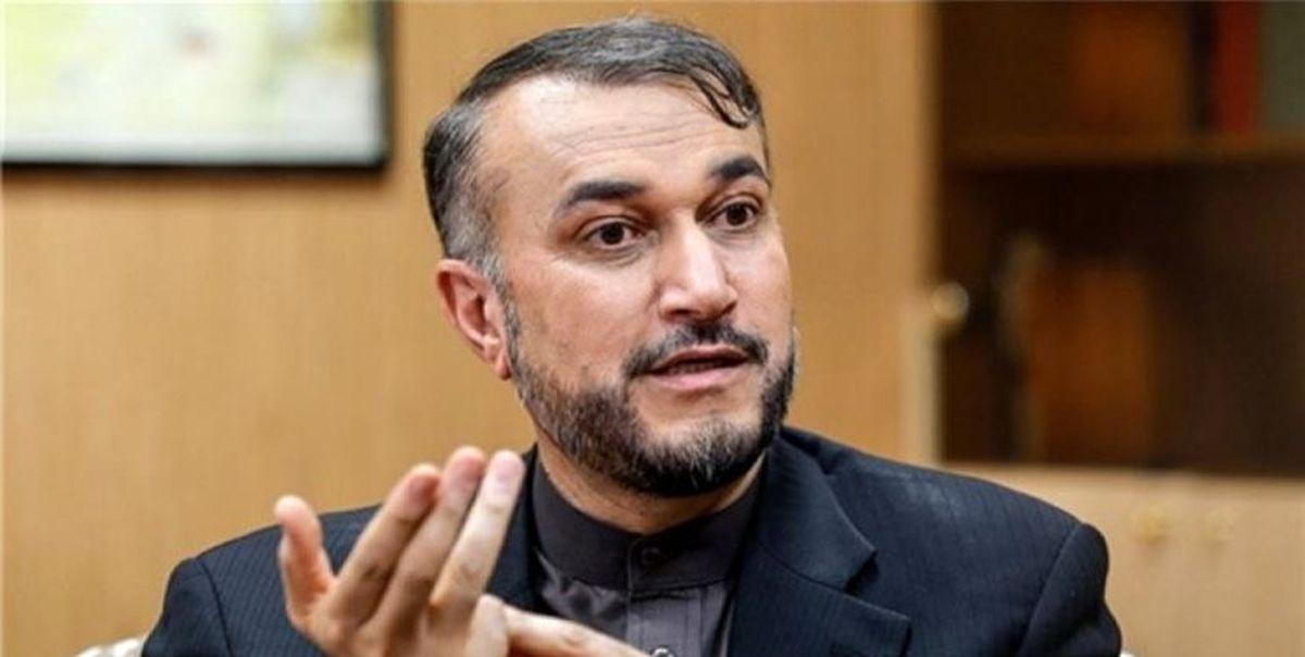 امیرعبداللهیان: تاکید ایران بر لغو موثر تحریمها است