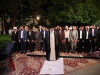 دیدار شاعران با رهبر انقلاب اسلامی