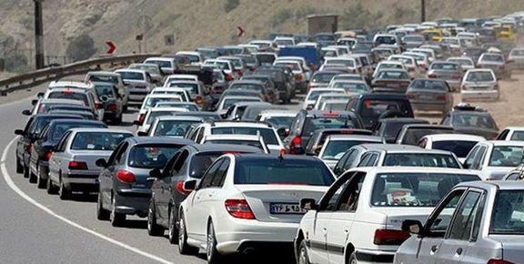 ترافیک سنگین در ۵محور خروجی تهران