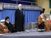 دیدار مسئولان نظام و میهمانان کنفرانس وحدت اسلامى با رهبر انقلاب +تصاویر