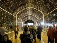 شب نورانی پایتخت +تصاویر