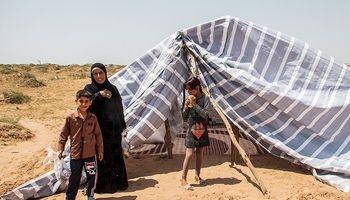 کاهش تعداد اردوگاههای سیلزدگان خوزستان