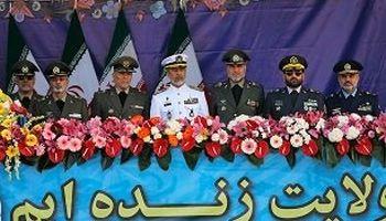 کدام چهرههای نظامی در جایگاه ویژه رژه روز ارتش حضور دارند؟