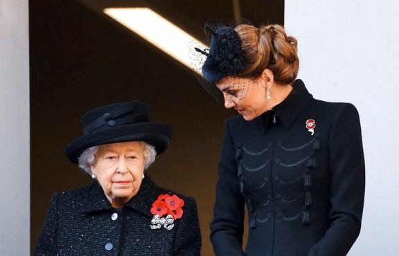 اشک ملکه انگلیس در آمد +عکس