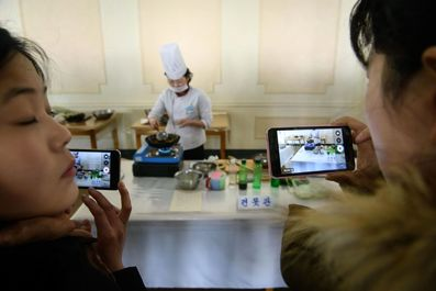 جشنواره آشپزی در کره