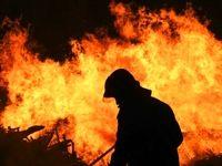 آتشسوزی در میدان حسنآباد تهران +فیلم