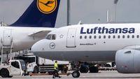 سقوط ۹۰درصدی پروازهای لوفتهانزا در جهان