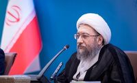 واکنش آملی لاریجانی به تحریم ظریف