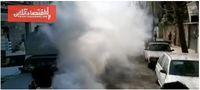 ضدعفونی کردن اماکن عمومی شهر لاهیجان +عکس