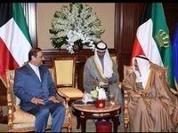 دیدار سفیر جدید ایران در کویت با امیر این کشور