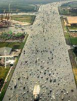 ترافیک دریایی در شهر آمستردام +عکس
