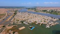آخرین وضعیت سیل خوزستان از دریچه دوربین مخاطب اقتصادآنلاین