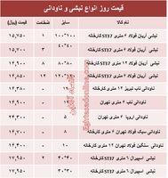 قیمت روز انواع نبشی و ناودانی ساختمانی +جدول