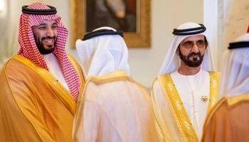 دیدار بن سلمان با حاکم دبی +عکس