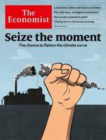 فرصت بهبود وضعیت آب و هوا روی جلد اکونومیست