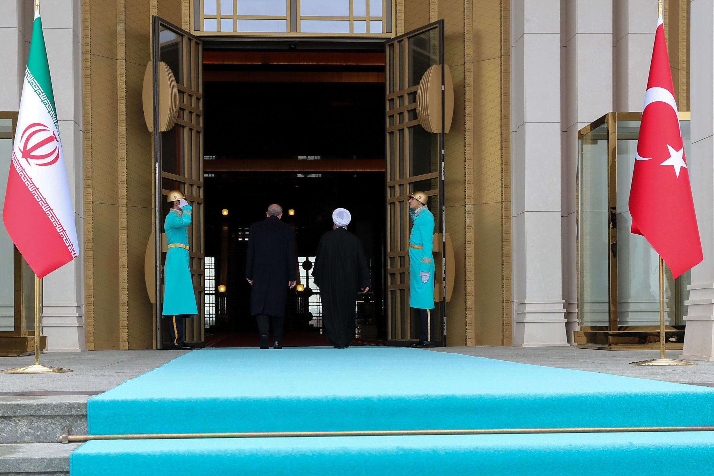 استقبال اردوغان از روحانی