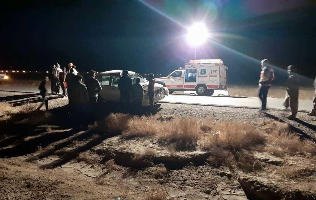 حادثه رانندگی یک کشته و سه مصدوم داشت
