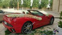 ماشین عروس فراری در رفسنجان +عکس
