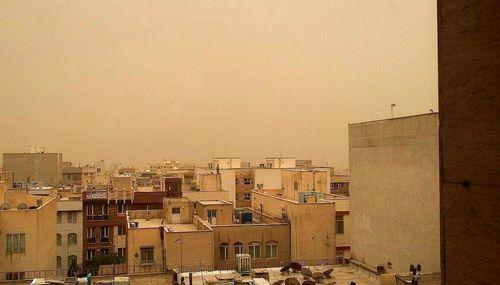 هماکنون؛ طوفان گرد و خاک در تهران +عکس