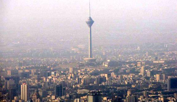 هوای تهران برای گروه های حساس ناسالم است
