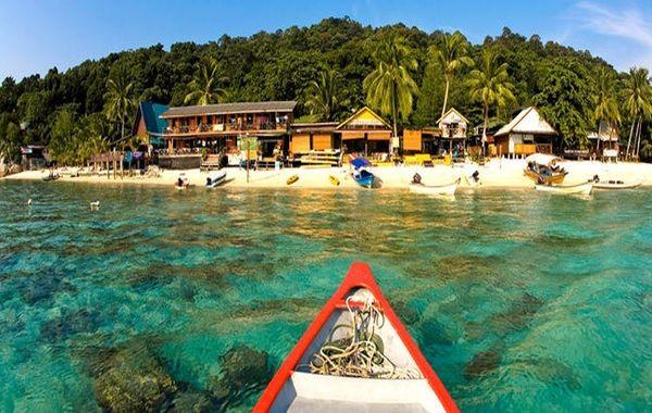 جزیره ای زیبا در مالزی