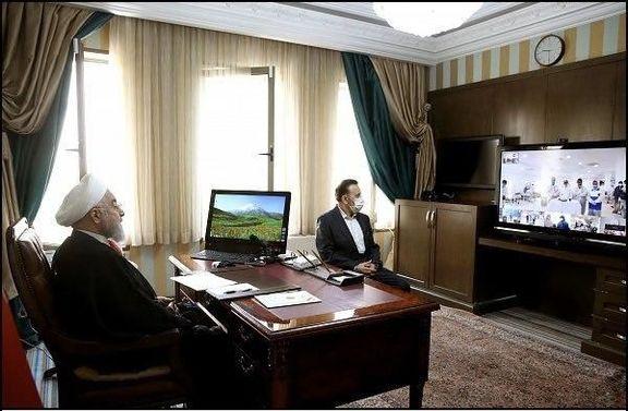 برنامه کاری حسن روحانی در نخستین ساعت سال نو