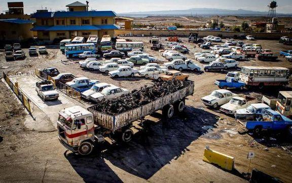 تردد بیش از 2میلیون خودروی فرسوده در کشور/ بلاتکلیفی خودروهای اسقاطی باوجود 4متولی قوی