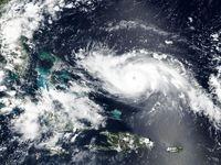 تصاویر ثبت شده طوفان دوریان از فضا +فیلم