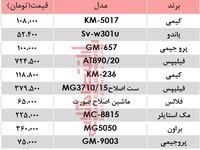 مظنه انواع مختلف ریشتراش در بازار تهران؟ +جدول
