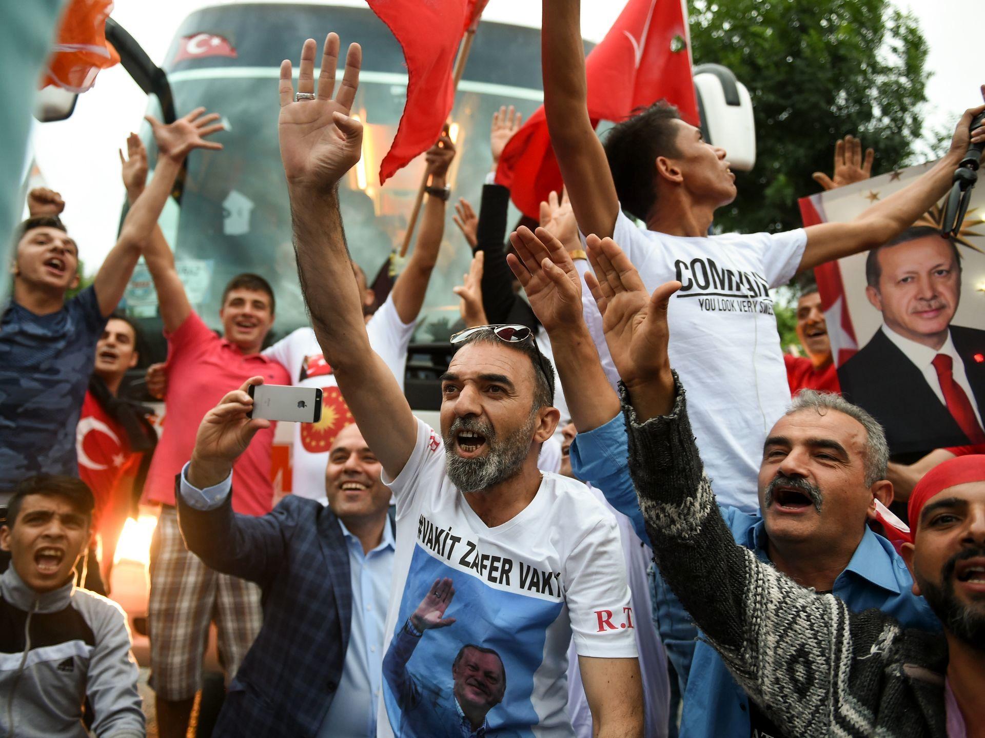 پیروزی اردوغان در انتخابات ترکیه