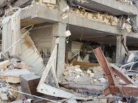 خسارات زلزله در سرپل ذهاب و قصر شیرین +تصاویر