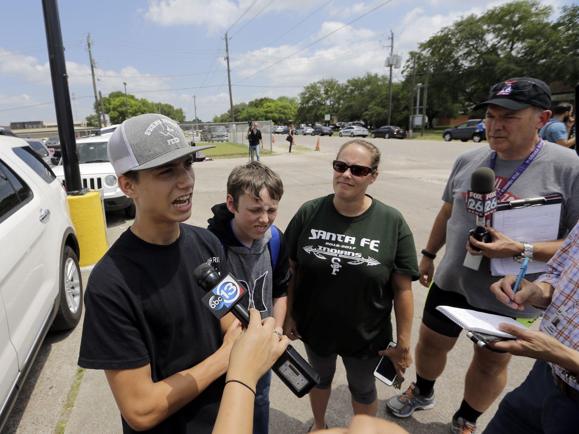 تیراندازی در مدرسه ای در تگزاس ۸ کشته برجای گذاشت