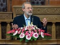 لاریجانی: دوره تحریم میتواند منجر به نوسازی درونی اقتصاد کشور شود/ در قبال این اقدامات دشمن، نباید صرفاً نطق کرد
