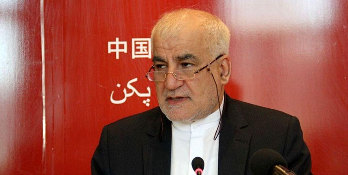 روابط تهران و پکن آرام و در مسیر درست است
