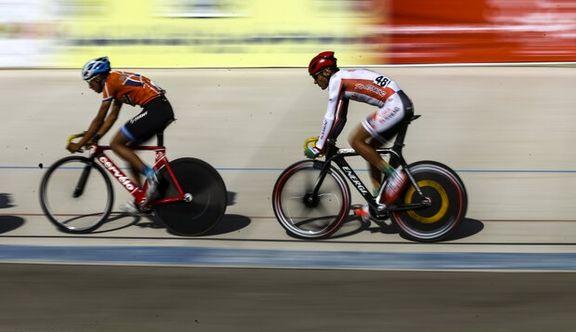 دوچرخه سوار ایرانی مدال طلای مسابقات جهانی را کسب کرد