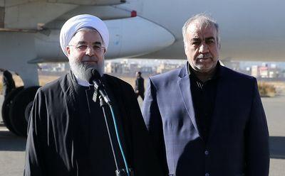 روحانی: به نمایندگی از ملت ایران به مردم کرمانشاه تسلیت میگویم/ دولت با تمام توان برای کمک به مردم استان کرمانشاه وارد عمل شده است