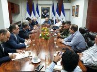 آنچه ظریف در دیدار با رئیس مجلس ملی نیکاراگوئه گفت