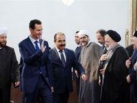 بشار اسد در مراسم میلاد پیامبر +عکس