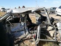 تصادف جادهای ۲کشته و ۸مصدوم برجا گذاشت