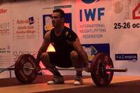 مدال طلای وزنهبرداری قهرمانی آسیا به  ایران رسید